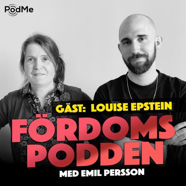 #141 Dricker Louise Epstein flaskvatten med tvåhandsfattning?