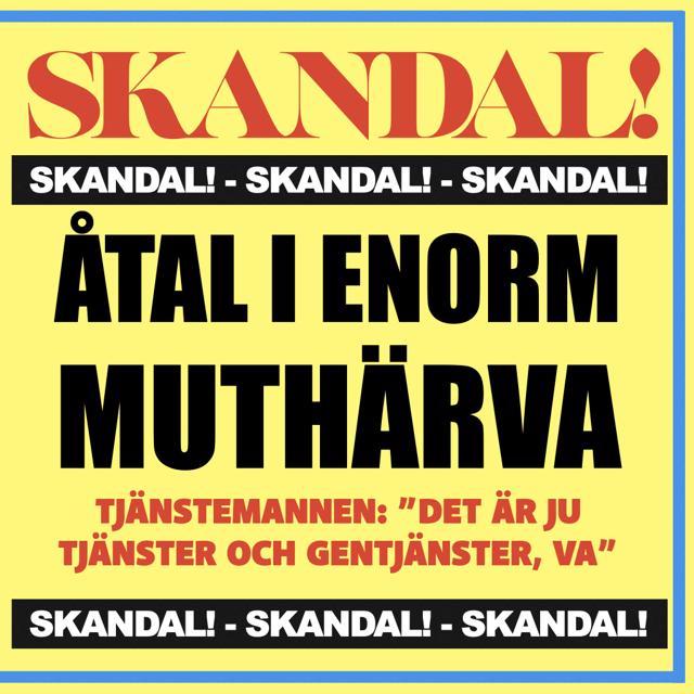 Muthärvan i Göteborg: tjänster, gentjänster och 23 ton tegel